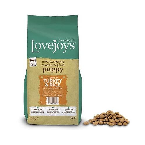 Lovejoys turkey & rice puppy 2kg
