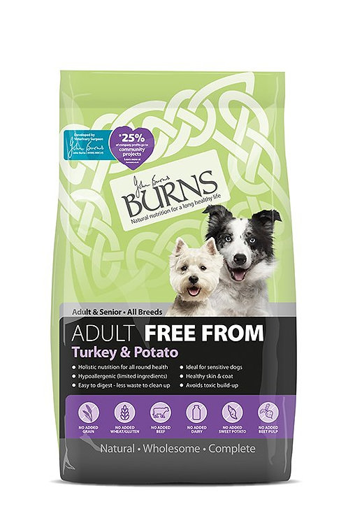 Burns free from turkey 2kg
