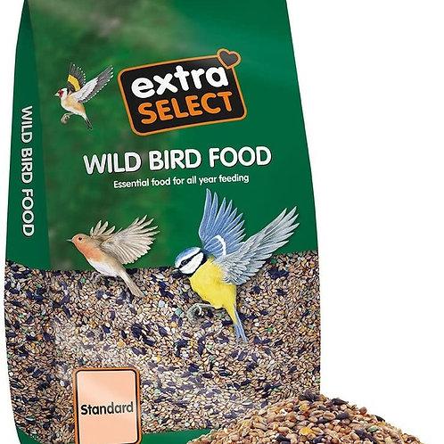 Extra select standard wild bird 12.75kg