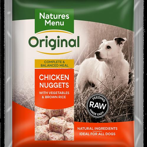 Natures menu chicken nuggets 1kg