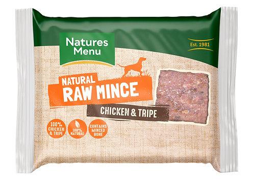 Natures menu chicken & tripe 400g
