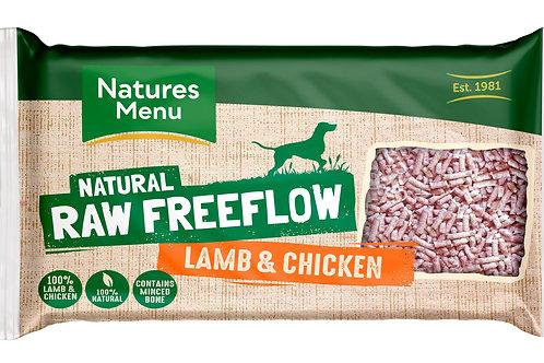 Natures menu freeflow lamb & chicken 2kg