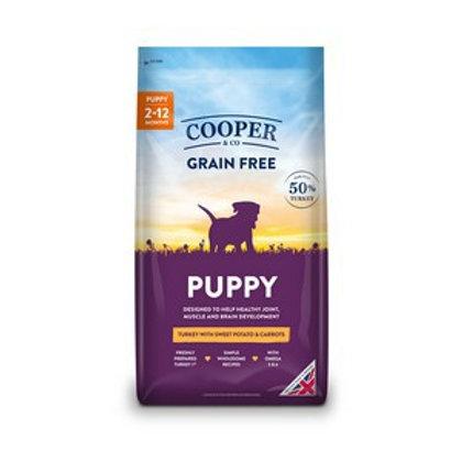 Cooper & co grain free puppy 1.5kg