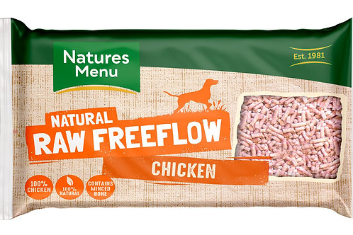 Natures menu freeflow chicken 2kg
