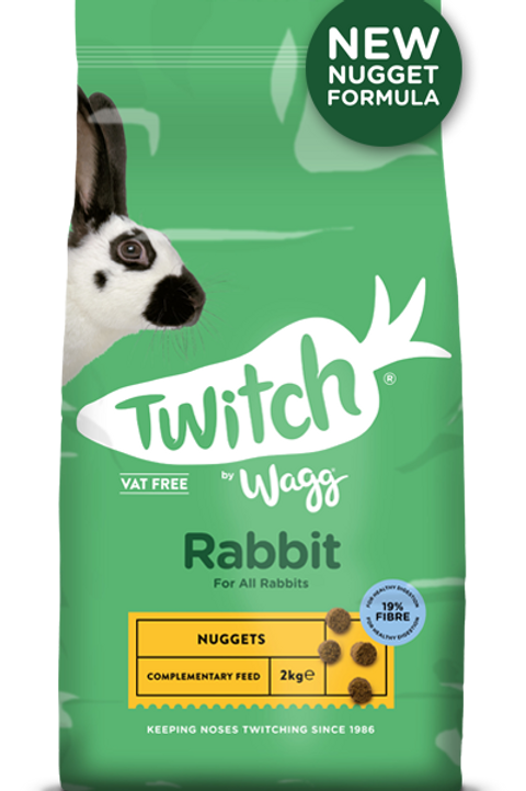Twitch by wagg rabbit food 2kg