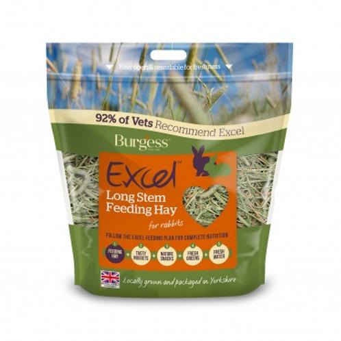 Excel long stem feeding hay