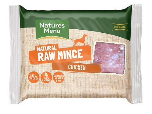 Nature menu chicken mince 400g