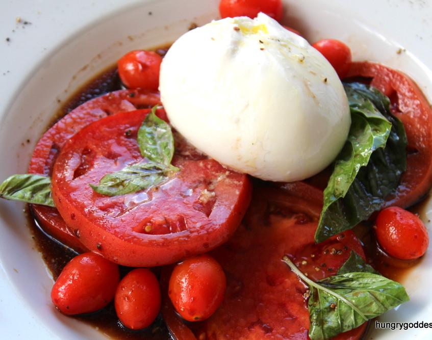 Roasted Tomato & Burrata Salad