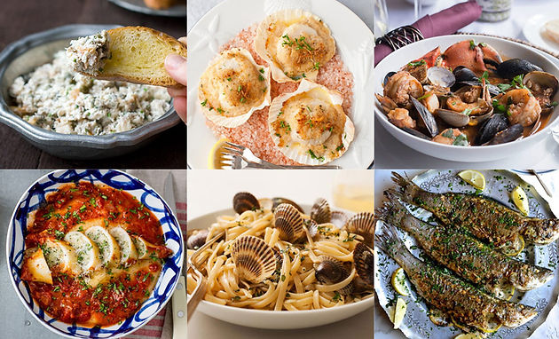 7 Fishes Christmas Eve Italian Recipes.Sunday December 24th At 6 30pm The Feast Of The Seven Fishes
