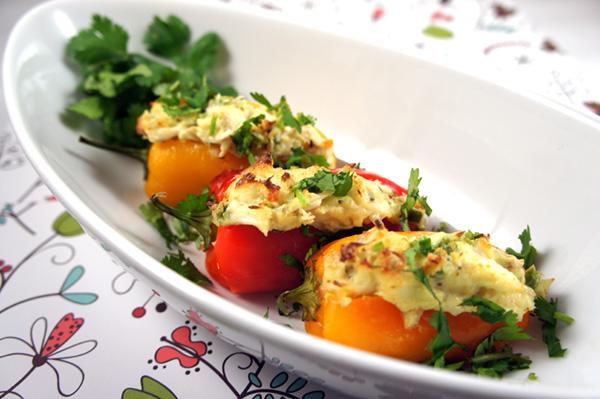 Crab-stuffed-peppers