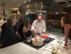 Chef Trey Teaching a Lesson