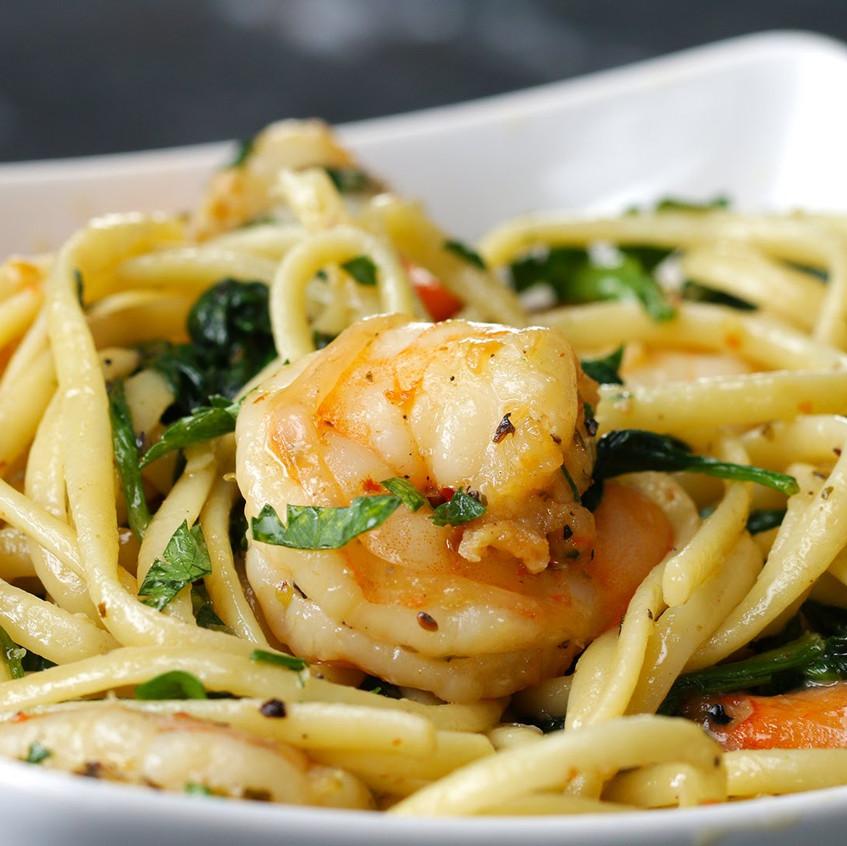 Spaghetti-Shrimp