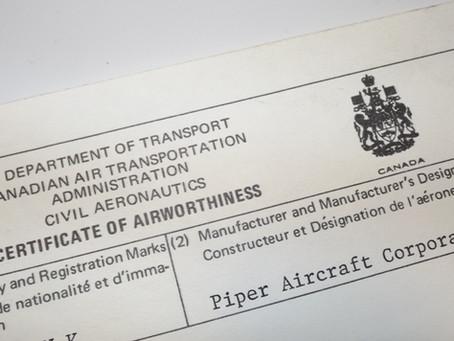 Maintaining the Airworthiness