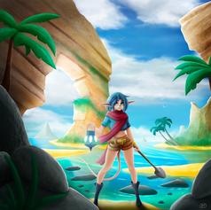 Lili the treasure hunter