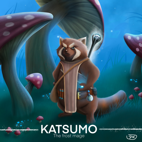 Katsumo the Frost Mage