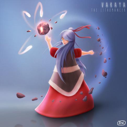 Varaya the lithomancer