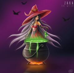 Zara the witch
