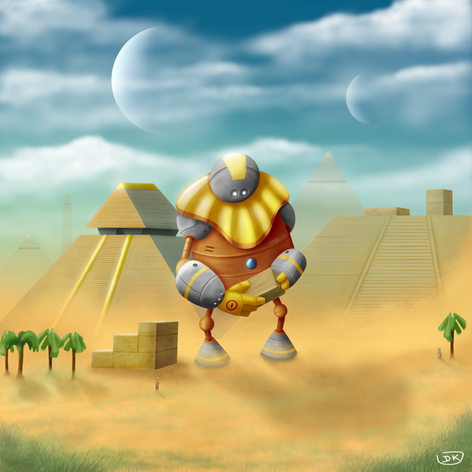 RB-1 the Pyramid Builder