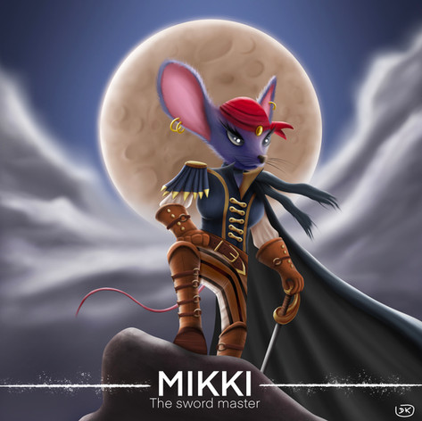 Mikki the Sword Master