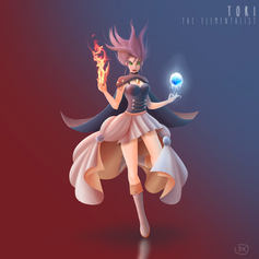 Tori the elementalist