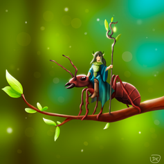The Ant Rider