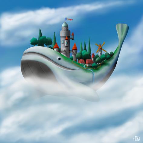 Cloud Whale