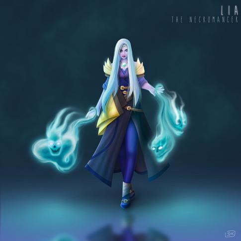 Lia the necromancer
