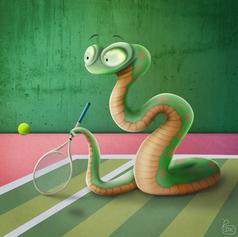 Tennis Snake