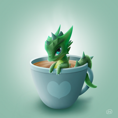 The Hot Chocolate Dragon