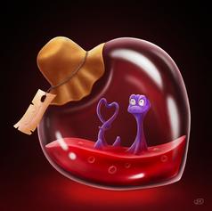 The Salamander Love Potion