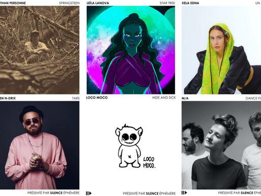 Artistes de la semaine #20