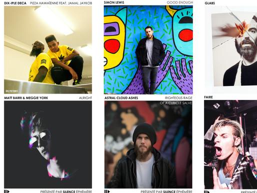 Artistes de la semaine #25