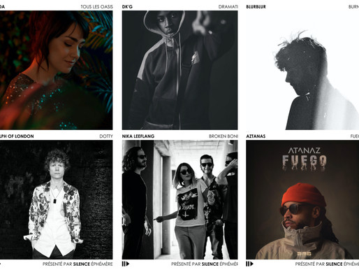 Artistes de la semaine #18