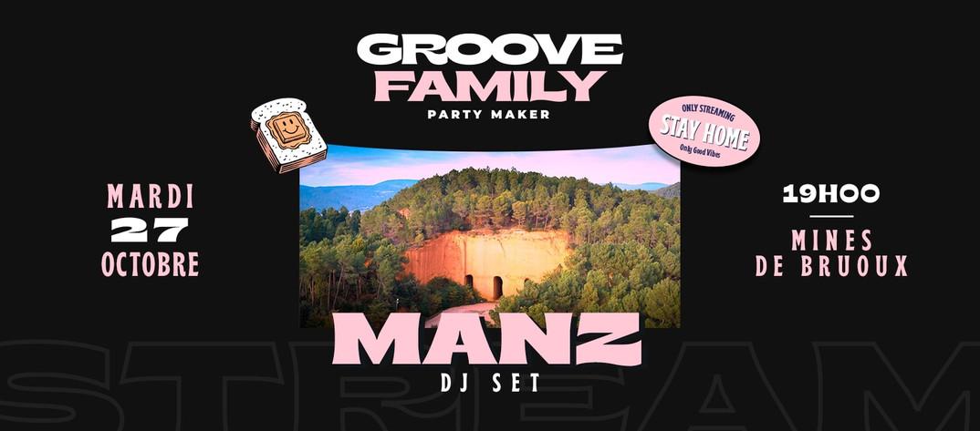 Groove Family @ Mines du Bruoux le 27/10/2020