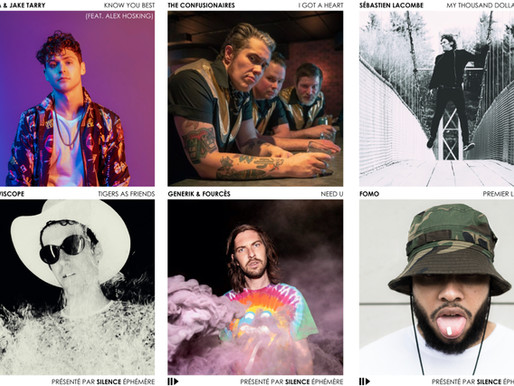 Artistes de la semaine #24