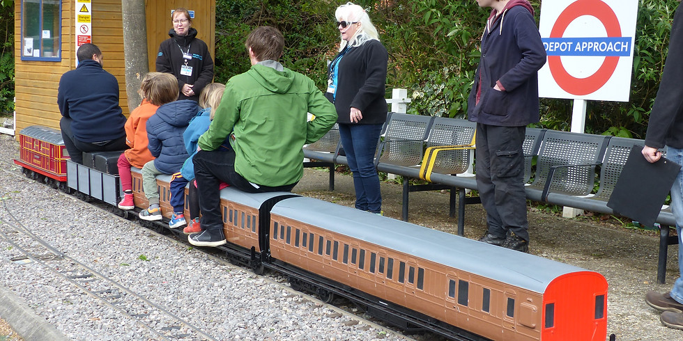 Past event - Miniature Railway maintenance with London Transport Museum
