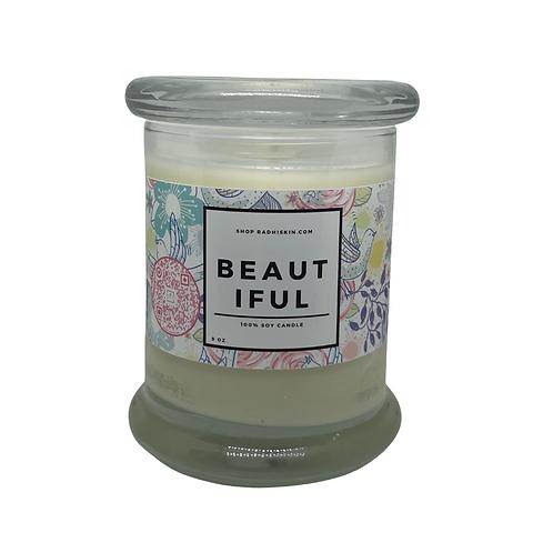 Beautiful 9 OZ Candle