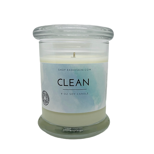 Clean 9 OZ Candle