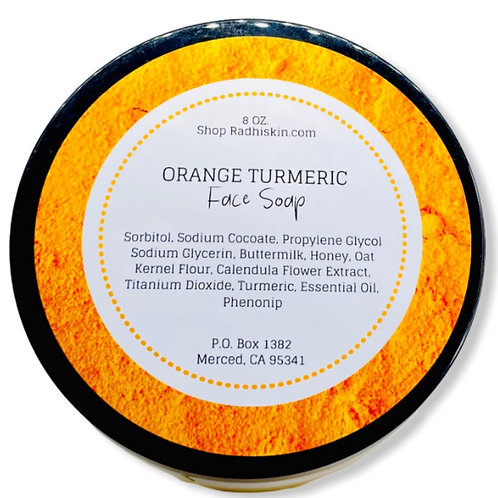 Orange Turmeric Face Soap