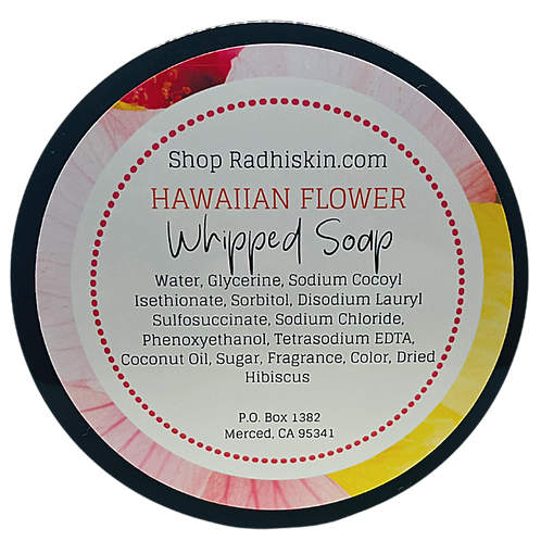"""Hawaiian Flower"" Whipped Soap"