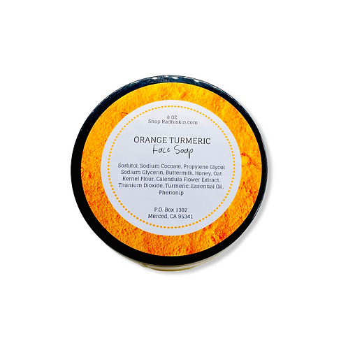 Orange Turmeric Face Soap