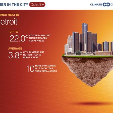 Reducing the Urban Heat Island Effect