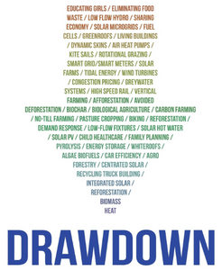 """Examples of """"drawdown"""" strategies to cut carbon."""