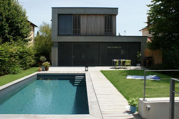 Projet de réaménagement de jardin et maison, en collaboration avec Danke Architectes