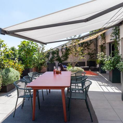 Projet de terrasse plein ciel à Lyon 5