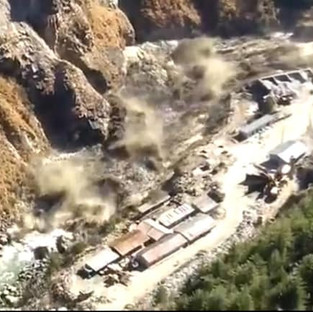 Chamoli Glacier break in Uttarakhand's and Flood in Dhauli