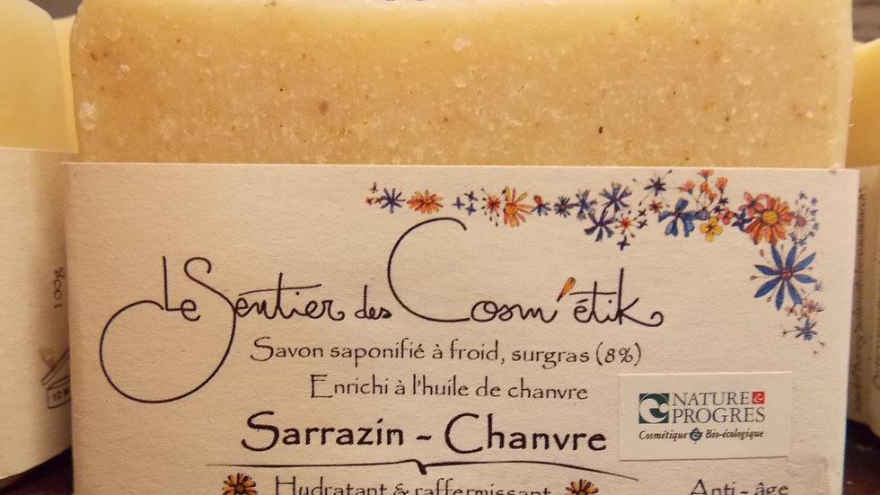SARRASIN CHANVRE SAVON ARTISANAL Nature et prog Le Sentier des Cosm'étik