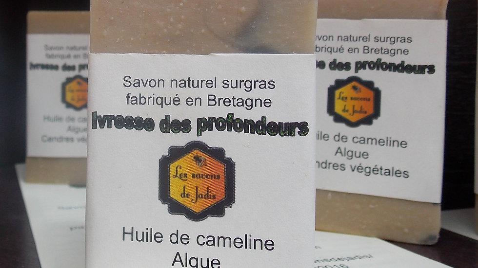 IVRESSE DES PROFONDEURS SAVON ARTISANAL Nature et Progrès Les savons de Jadis