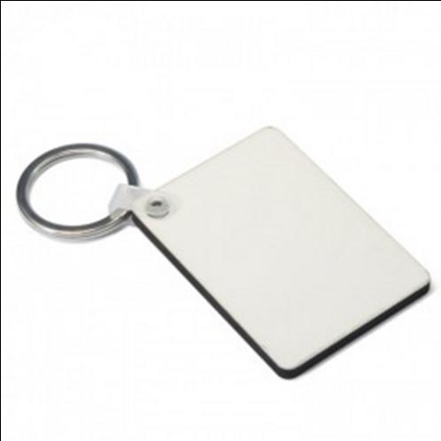 Sublimation Hardboard Rectangle Key Ring 1