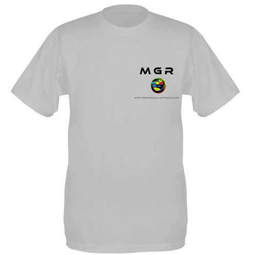MGR -100% Cotton Fruit Of The Loom  Tee-Shirt - White